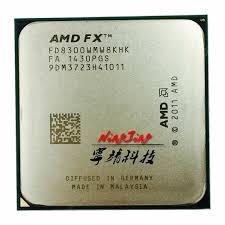AMD FX-8300 FX 8300 FX8300 3.3 GHz Eight-Core 8M Processor ...
