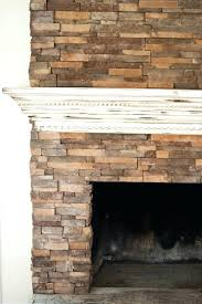 stacked stone fireplaces with mantle white mantel stacked stone fireplace ideas