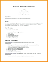 Resume For Servers Resume Server Sample Resume