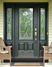 front doors with glass and sidelights black front entry door with sidelights fiberglass front doors with