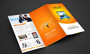 paper flyer customized accordion fold brochure flyer printing advertising