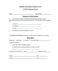 Hipaa Authorization Form Custom Leave Authorization Form Colbroco