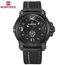 NAVIFORCE <b>Top Luxury Brand</b> Men Sports <b>Military</b> Quartz Watch ...