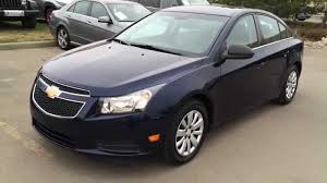 Pre Owned Blue 2011 Chevrolet Cruze LS Walk Around Review ...