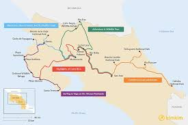 what is a travel itinerary 10 days in costa rica 5 unique itineraries kimkim