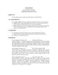 Manager Job Description Resume Assistant Store Manager Job Description Resume Krida 9