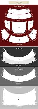 overture hall seating chart