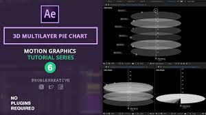 3d Multilayer Pie Chart In Ae No Plugin Required