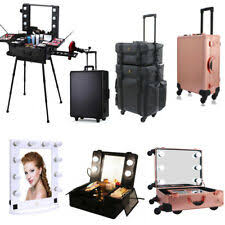 item 2 rolling makeup case studio cosmetic artist bag train box hollywood mirror light rolling makeup case studio cosmetic artist bag train box hollywood
