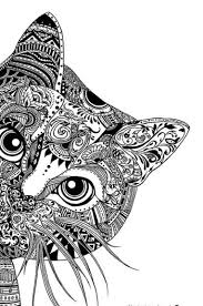 make an black and white zentangle coloring page sheet art baldauf coloring book paper mache