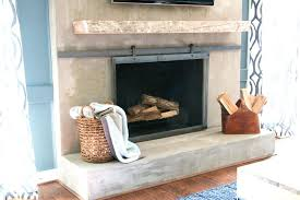 how to make barn door style fireplace screen designer trapped screens with doors home