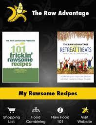 Tra Raw Recipes App The Raw Advantage