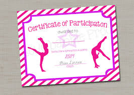 Dance Certificate Template - Bombaynights.info