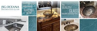 Oceana Designs Granite Welcome To Jsg Oceana A Decorative Glass Manufacturer