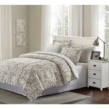 grey camille 8 piece taupe king bed in
