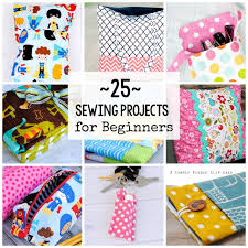 Beginners Sewing Machine Projects