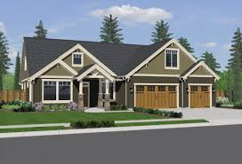 Single Story Craftsman Style Homes  House Plans Endearing New - Interior exterior designs