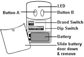 clicker garage door keypad instructionsHow To Program A Garage Door Remote And Garage Door Opener For