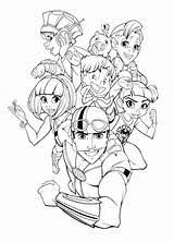 Lazy Town Stingy Coloring Pages Sketch Coloring Page