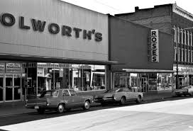 woolworth s and roses downtown date 1976 john shepherd these two department s were mainstays in downtown charlottesville for many years