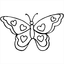 Small Picture coloring pages of butterflies and hearts butterfly with hearts