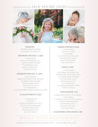 Photography Pricing Template Price Guide Page Photography Pricing Template Wcc Usa Org