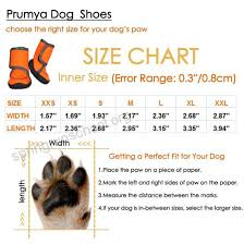 Prumya Dog Boots Waterproof Paw Protectors Dog Shoes With