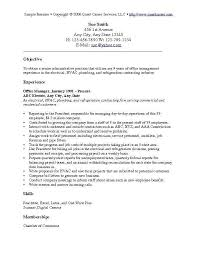 Resume Objective Examples Cool Generic Resume Objective Examples Kenicandlecomfortzone