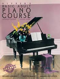 Group adult beginner piano class