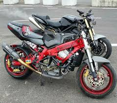600 f4i stunt bike red black stunt bike world pinterest