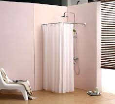 square shower curtain rod l bathroom curtain cloth hanging rod corner shower curtain rod right angle