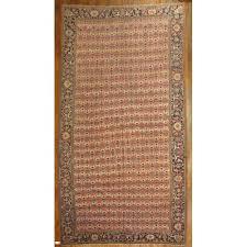oversize antique persian serapi rug