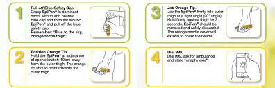 Epipen Chart Epipen User Guide