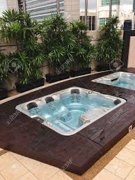 Outdoor Jacuzzi Outdoor Jacuzzi In The City Stock Photo Picture And Royalty Free