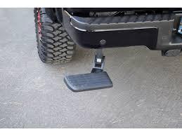 AMP Research BedStep - Rear Bumper Step - 75302-01A - SharpTruck.com