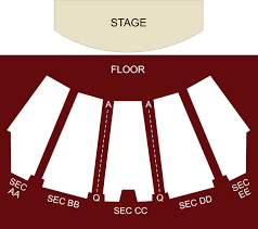 The Orleans Showroom Seating Chart The Orleans Showroom Theater Las Vegas Nv Seating Chart