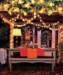 backyard party lighting ideas. backyard lit with colorful electric lighting a tip about outdoor when stringing lights on your patio or deck make sure you look for party ideas l