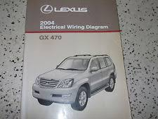 lexus gx470 repair manual 2004 lexus gx470 gx 470 electrical wiring diagram service shop repair manual x