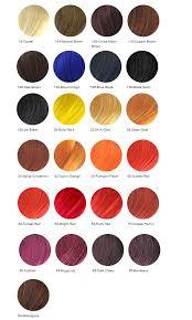 Hair Rinse Color Chart Real Hair Natural Hair Color Chart Bedowntowndaytona Com