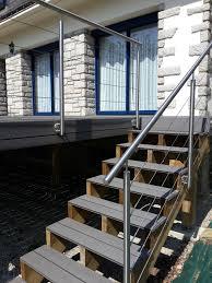 Terrasse Avec Escalier Obasinc Com Terrasse Sur Pilotis Sur 2 Niveaux Avec 2 Escaliers