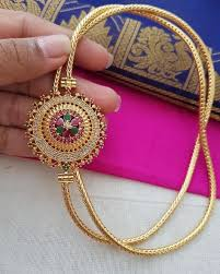 side pendant ideas gold chain design