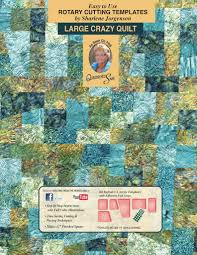 Crazy Quilt | quilt template by Quilting from the Heartland &  Adamdwight.com