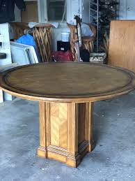 round table with leather top escondido ca