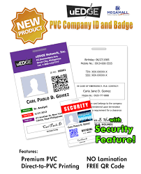 Id pvc Cards Business Uedge Company Philippines