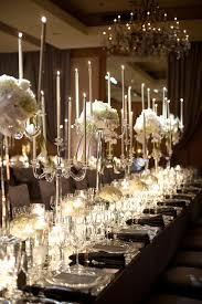 dramatic-candle-wedding-centerpieces ...