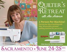 Runs with Scissors Quilt Shop We're located at the N/E corner of ... & Many great resources for quilters - including Quilter's Retreat with Alex  Anderson - Sacramento, June Adamdwight.com