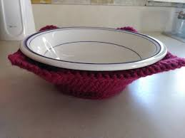 Bowl Cozy Pattern Fascinating Crochet Bowl Cozy CROCHET