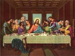picture of the last supper ii painting