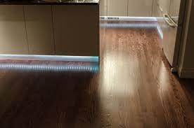 Toe Kick Lighting Motion Sensor Led Kitchen Toekick Lighting Setting The Toekick Lights On A
