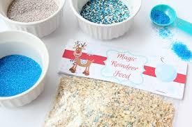 Magic Reindeer Food With Free Printable Bitz Giggles